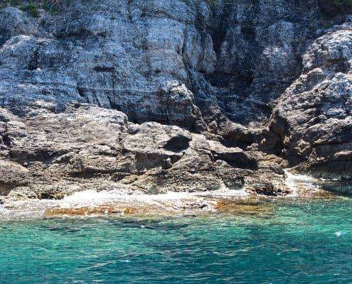 Photos of the Elafiti Islands - Kolocep Caves