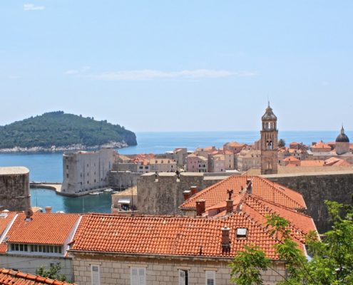 Photos of the Elafiti Islands - Dubrovnik Old Town (view from start of cable car)