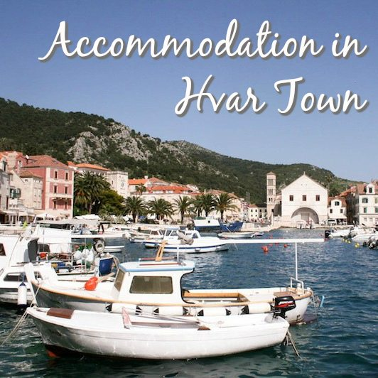 Accommodation in Hvar Town