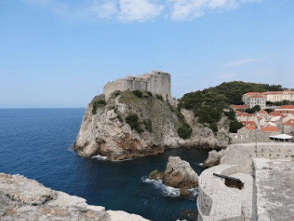 Croatia - The Thousand Island Wonderland - Dubrovnik Lovrijenac Fortress