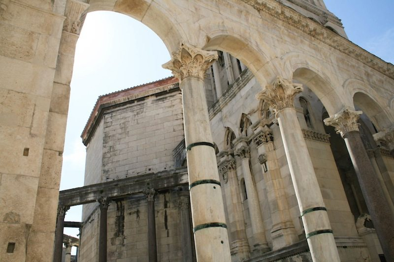 Photos of Split - Columns of the Peristyle