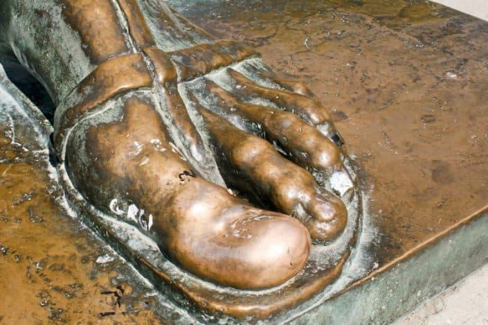 Photos of Split - Gregory of Nin's golden toe