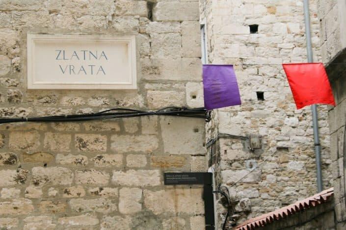 Photos of Split - Zlatna Vrata sign