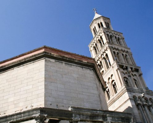 Photos of Split - Belltower & Cathedral