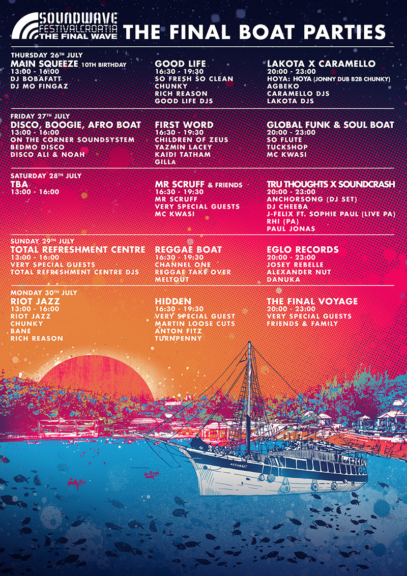 2018 Soundwave Festival Boat Parties