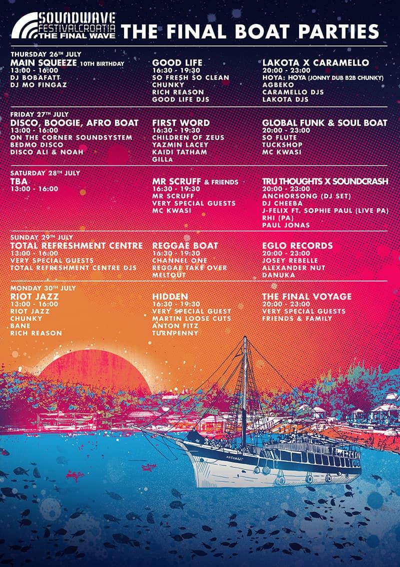 2018 Soundwave Festival Boat Parties