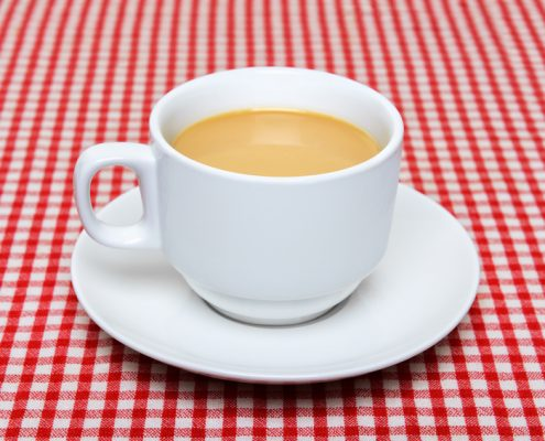 England and Croatia - Cup of Tea