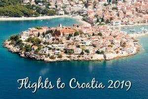 Flights to Croatia 2019