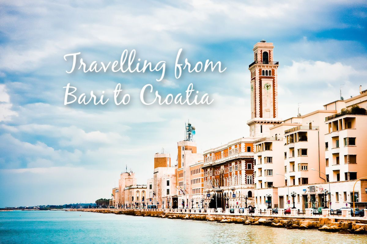 Travelling from Bari to Croatia