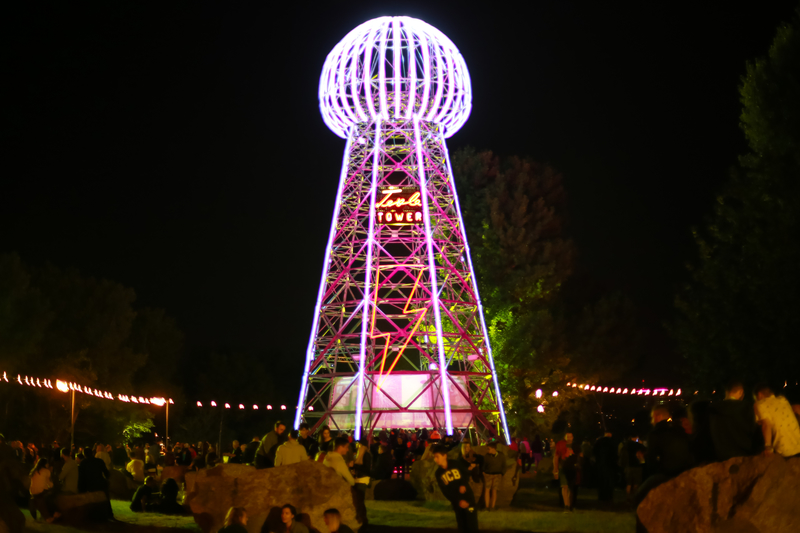 INmusic Festival - Nikola Tesla Tower