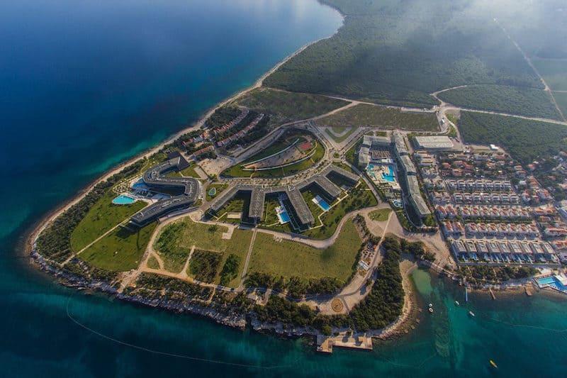 Falkensteiner Punta Skala Resort_aerial