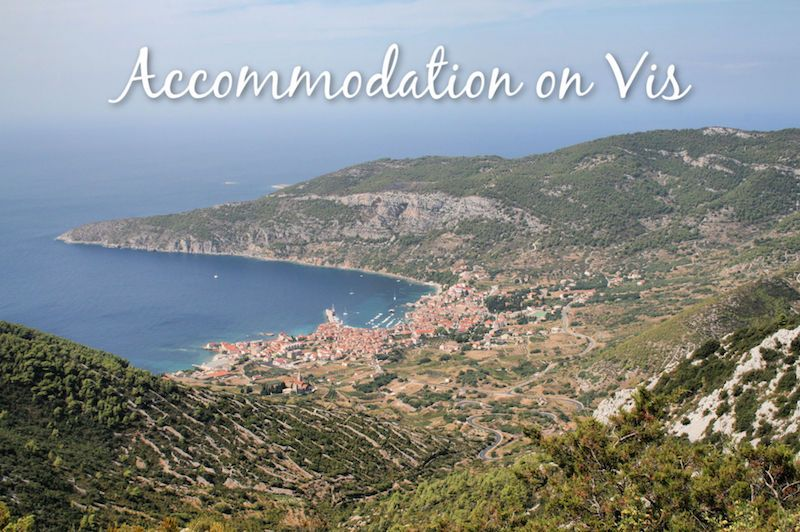 Accommodation on Vis
