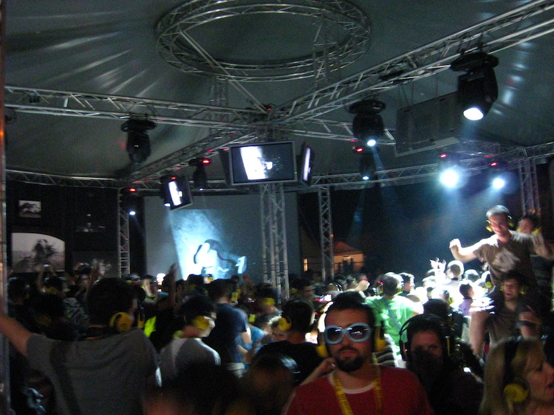 Exit Festival Day 4 - Silent Disco