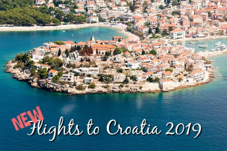 New Flights to Croatia 2019