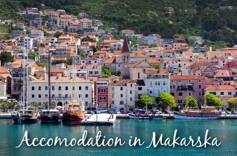 Accommodation in Makarska