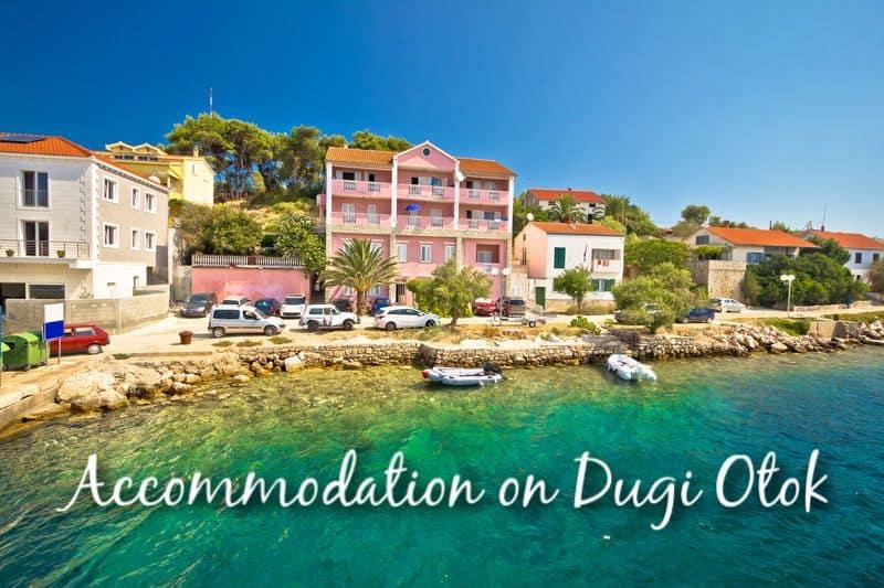 Accommodation on Dugi Otok