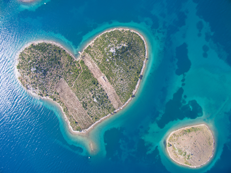 Honeymoon in Croatia - Galesnjak island