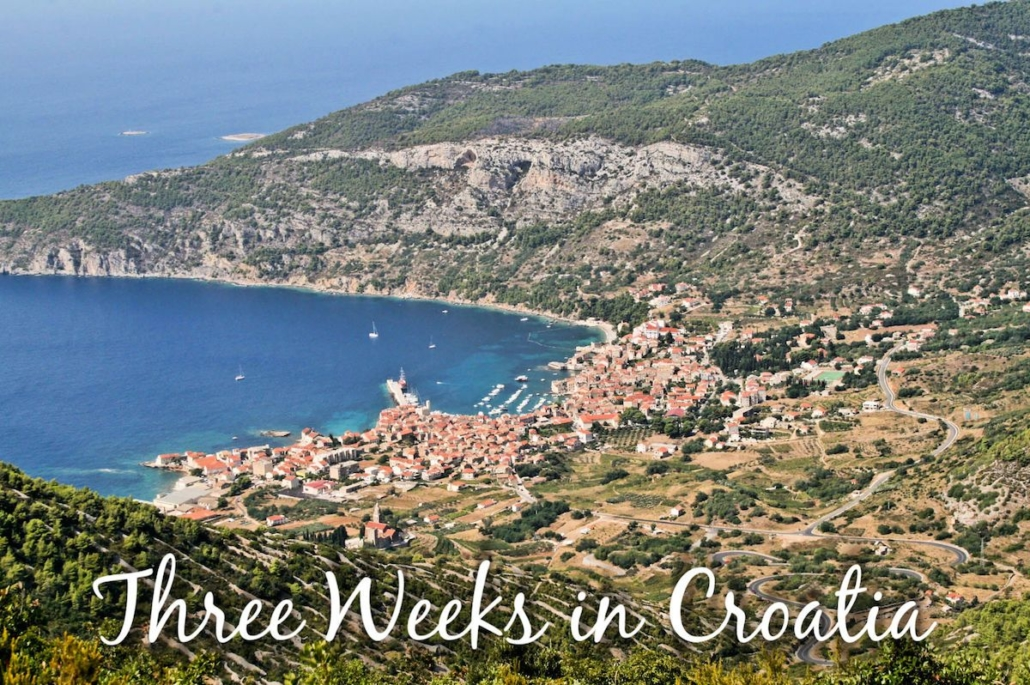 Three Weeks in Croatia