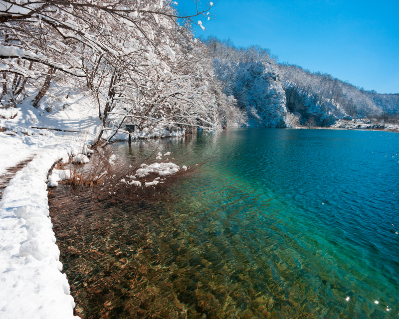 When to Go to Croatia - The Plitvice Lakes in winter