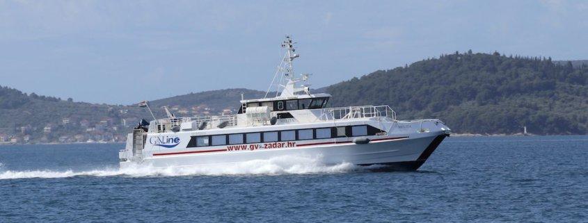 Rijeka to Zadar Catamaran - G&V Line Iadera Melita