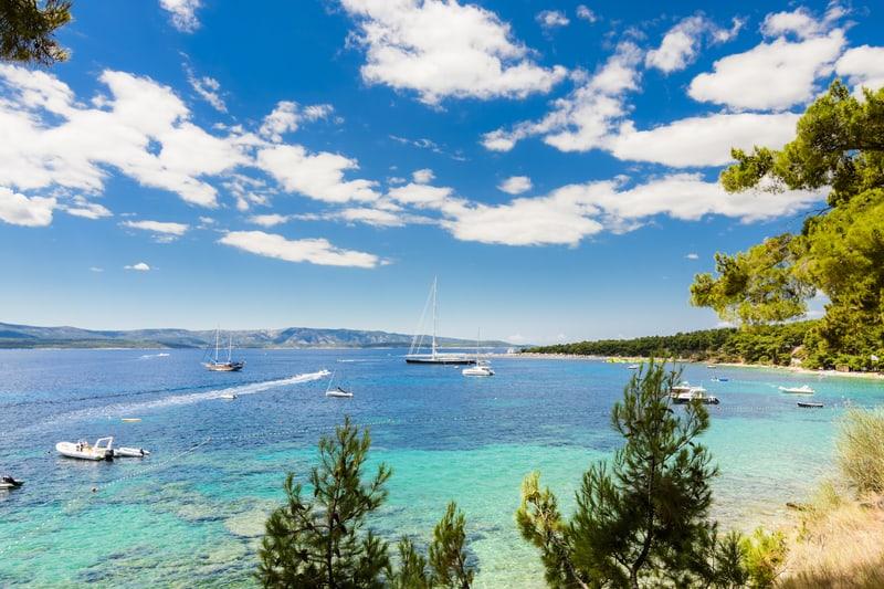 Catamaran Direct From Split Airport To Bol Visit Croatia