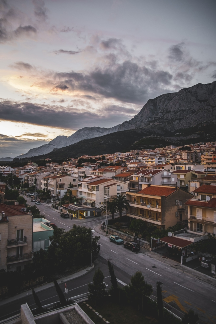 Photos of Makarska - Setting Sun