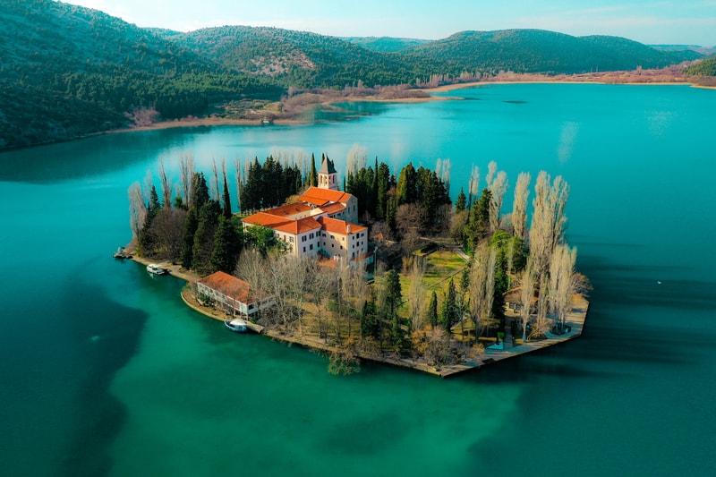 Krka National Park -Visovac Island