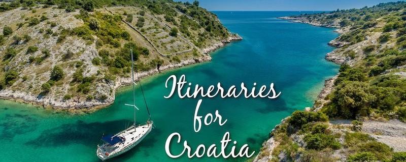 Itineraries for Croatia