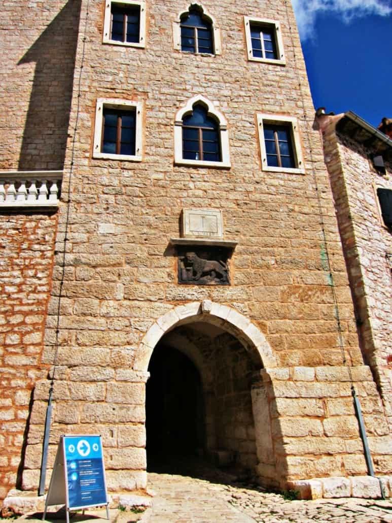 Bale Istria Soardo-Bembo Castle