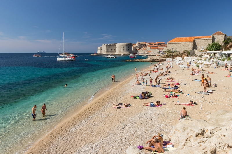 Beaches in Croatia - Banje Beach