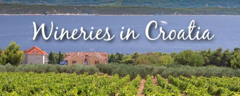 Wineries in Croatia