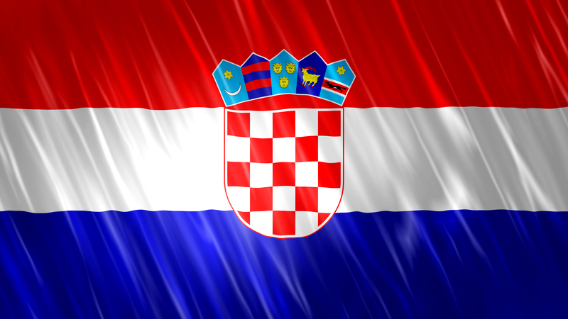 Croatian Flag and Anthem