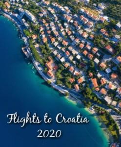 Flights to Croatia 2020