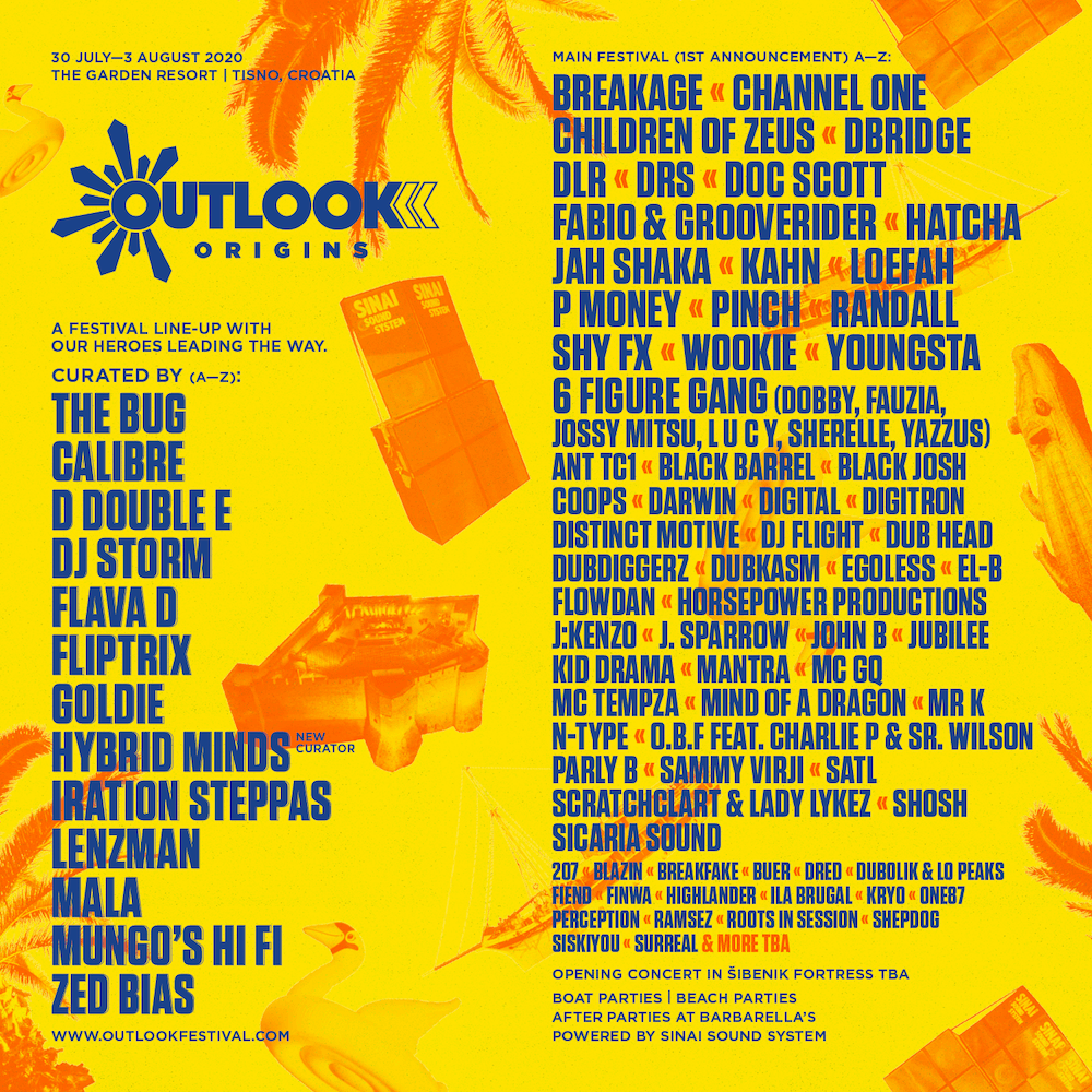 Outlook Origins Line-Up