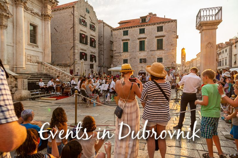 Event in Dubrovnik