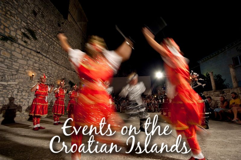 Events on the Croatian Islands