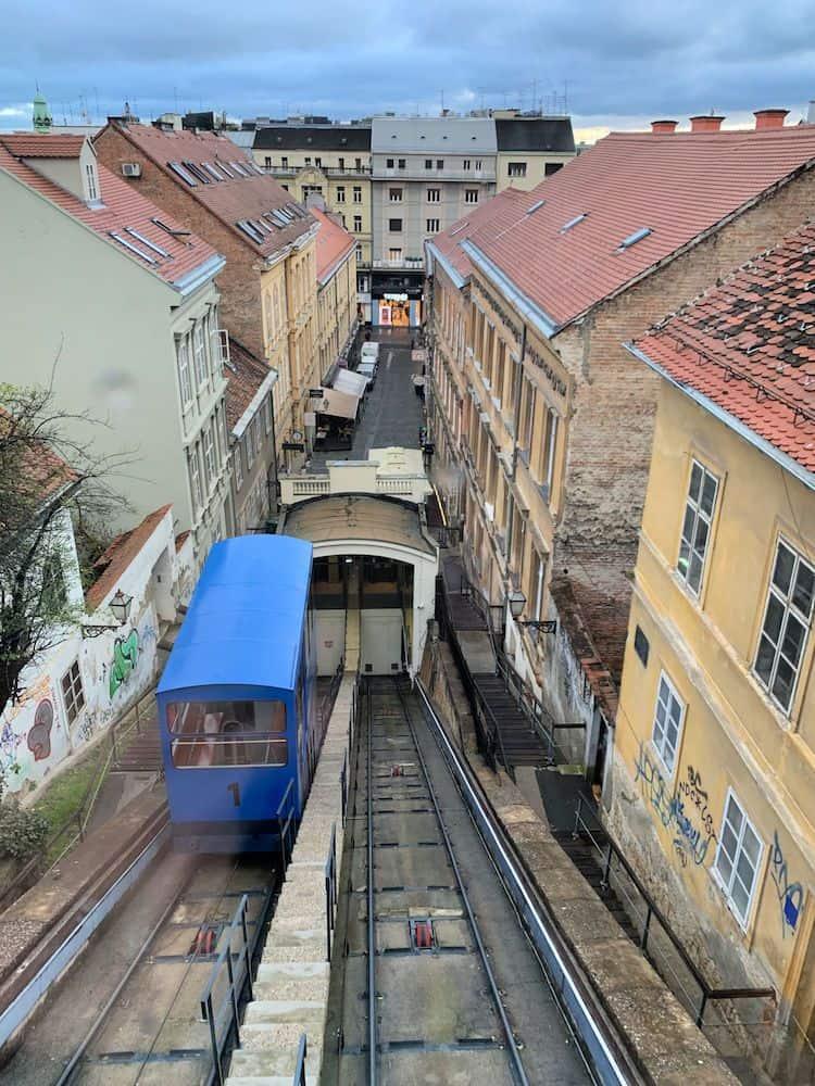 Zagreb Public Transport - Funicular / Uspinjaca
