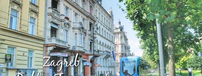 Zagreb Public Transport Trams Buses Taxis Bicycles Visit Croatia