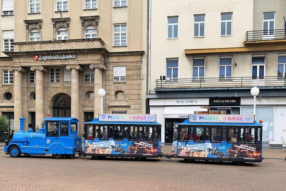 Zagreb Public Transport - Tourist Train