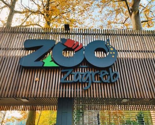 Zagreb Zoo Sign