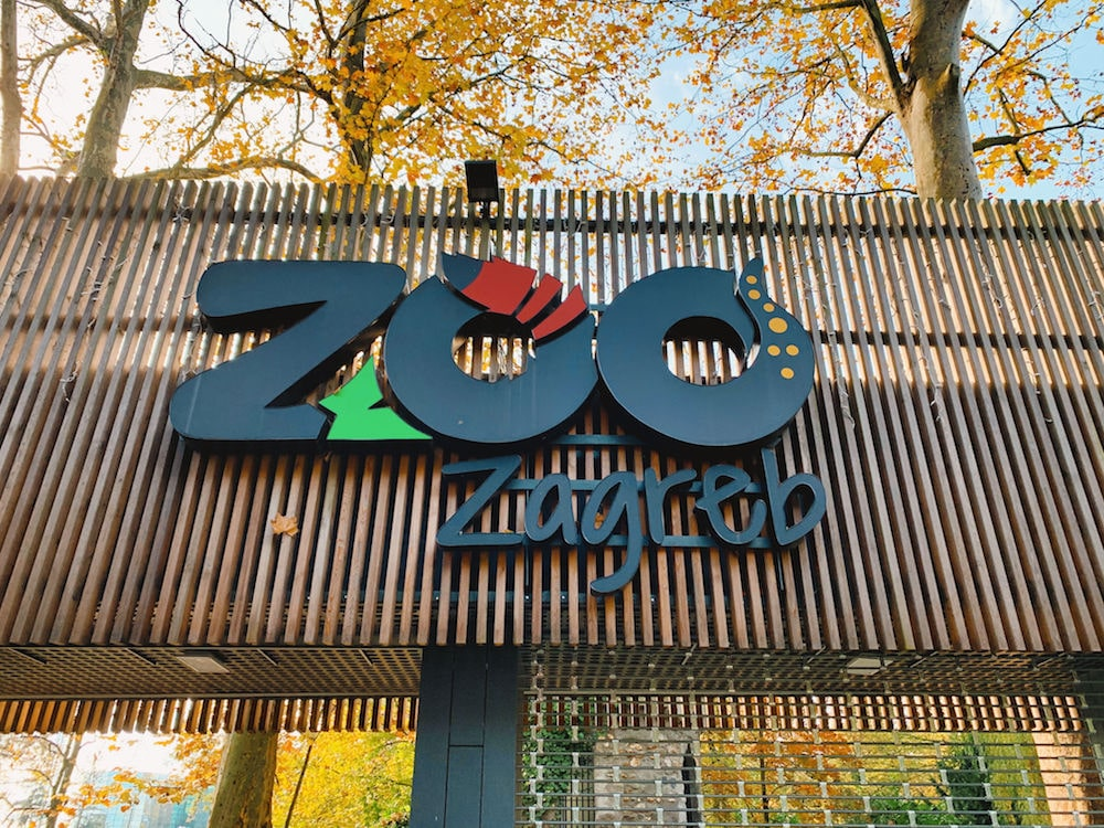 Zagreb Zoo Sign