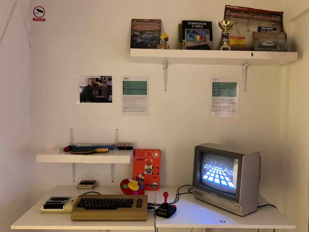 Zagreb 80s Museum - 80s games consoles
