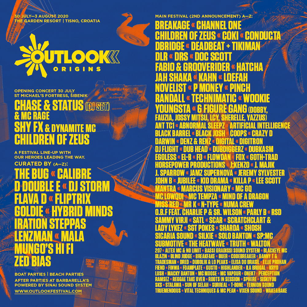 Outlook Origins Full Line-Up
