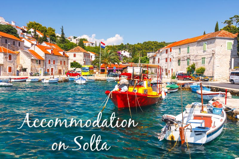 Accommodation on Solta