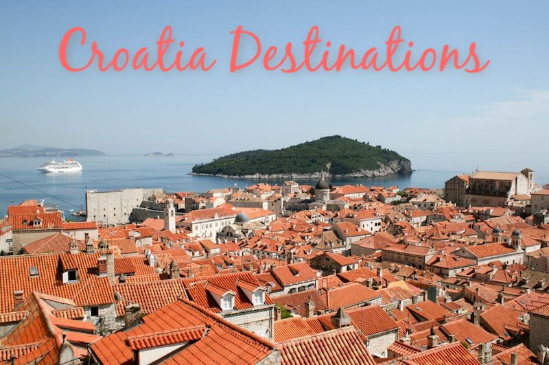 Croatia Destinations