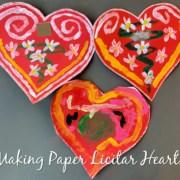 Paper Licitar Hearts