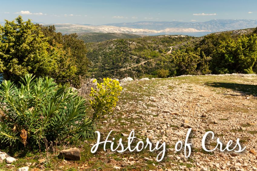 History of Cres
