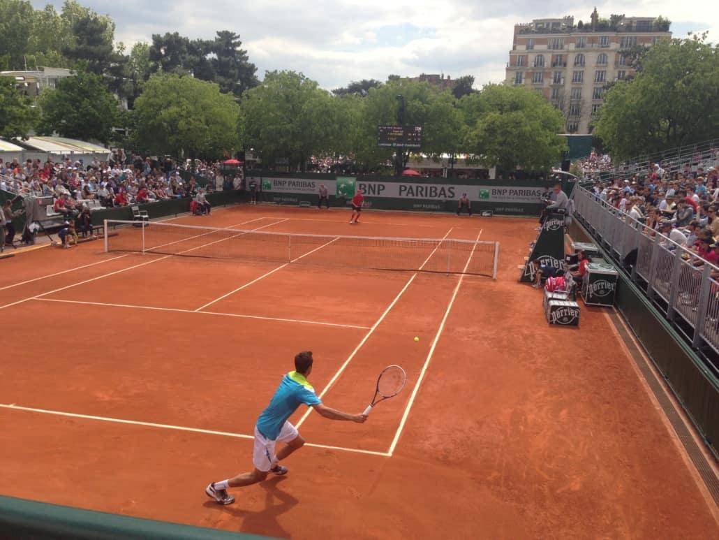 Marin Cilic at Roland Garros