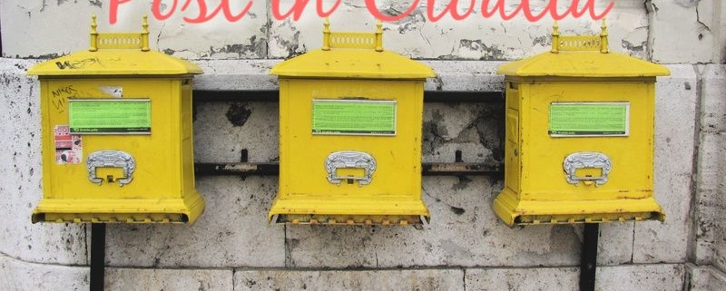 Post in Croatia