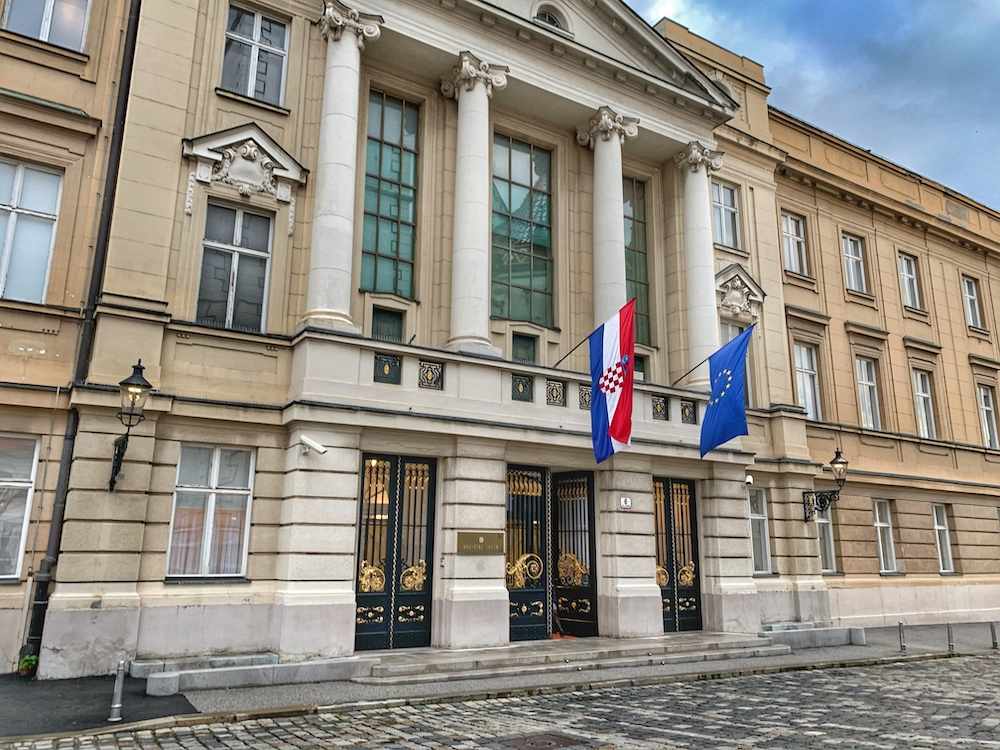 Vlada, the Croatian Parliament